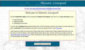 The Historic Liverpool website