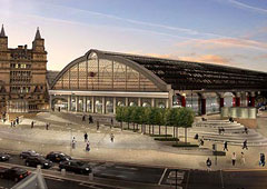 Artist's impression of Lime Street Gateway development