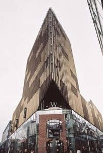 The Waterstones book shop in the Liverpool One development