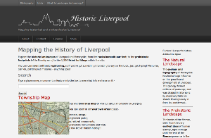 Screenshot of Historic Liverpool with a new Drupal theme