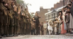 Still from a recent Hovis ad, filmed in Liverpool
