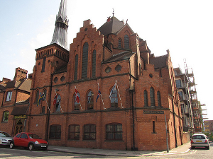 Photograph of the Scandinavian Seamen's Church, Liverpool