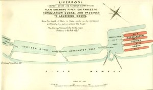 Plan of the Herculaneum Docks, South Liverpool, from the World War I Document Archive
