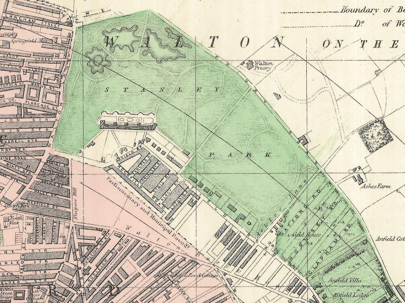 Stanley Park, 1890