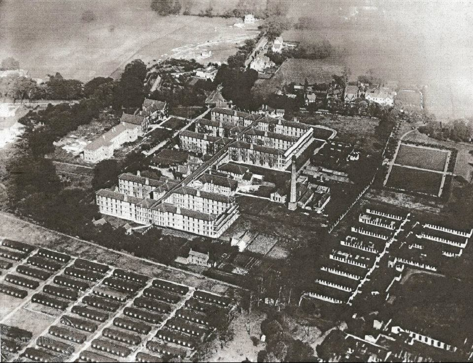Alder Hey Hospital, American Army barracks, and the green fields of Eaton Road