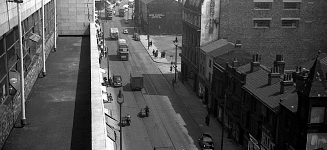 London Road, Liverpool 1955 by Harry Pope