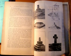 Some of the black and white illustrations from Ancient Crosses of Lancashire