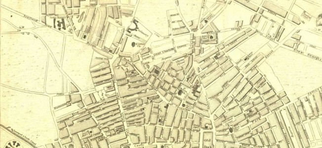 Map of Liverpool from 1803