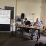 Photograph John Reppion and Ramsey Campbell at Spirits of Place
