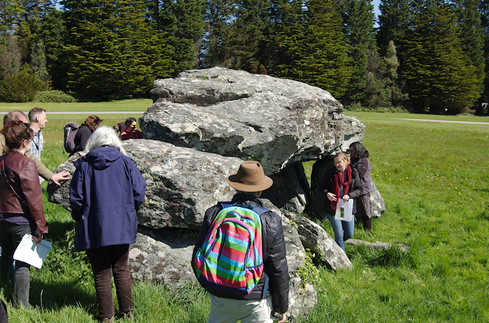 Photo of Plas Newydd burial chamber