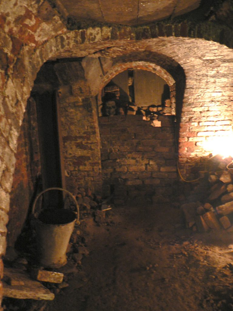 Photograph of the Wine Bins